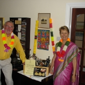 Ken & Kathy at the Coffee Morning in 2010