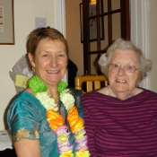 Kathy & Cath Eales at the 2011 Coffee Morning