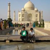 Neem Tree Trust bag at the Taj Mahal