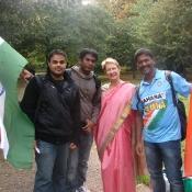 Alan Zepharine, Surendranath Reddy, Kathy Miller and Manikanta Gudur