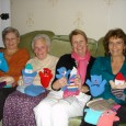 Some lovely ladies who live in the village of Sutton Benger, 5 miles from Chippenham, have been diligently knitting hand puppets and hats for Kathy to take out for the […]